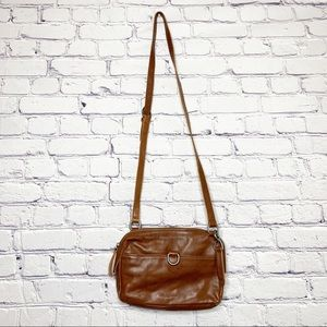 Lucky Brand | Brown Leather Crossbody Purse